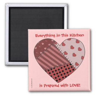 Everything Prepared with Love - TBA - Western 2 Inch Square Magnet