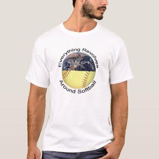 Everything Revolves Around Softball T-Shirt