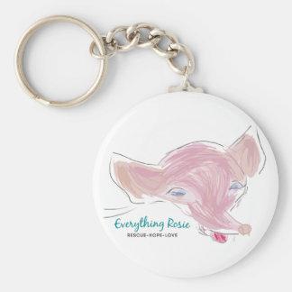 Everything Rosie Keychain