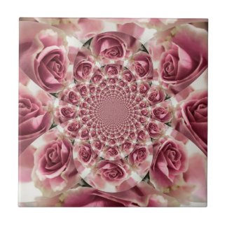 Everything s Coming Up Roses Floral Ensemble Ceramic Tile