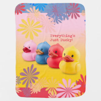 Everything's Just Ducky! Blanket