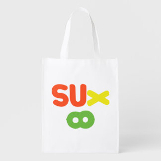 Everything Sucks ~ Sux Infinity Grocery Bag