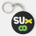 Everything Sucks ~ Sux Infinity Key Chain