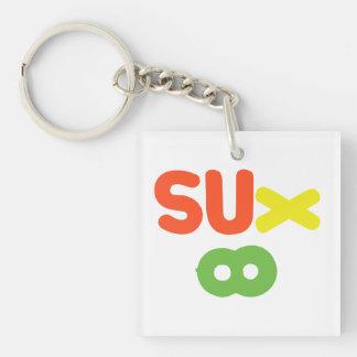 Everything Sucks ~ Sux Infinity Keychain