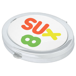 Everything Sucks ~ Sux Infinity Makeup Mirror