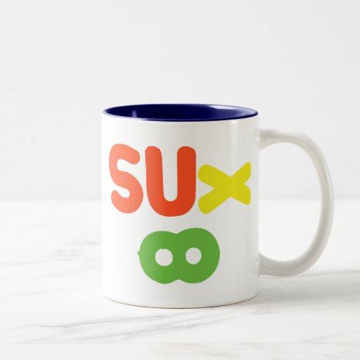 Everything Sucks ~ Sux Infinity Mugs