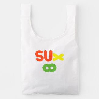 Everything Sucks ~ Sux Infinity Reusable Bag