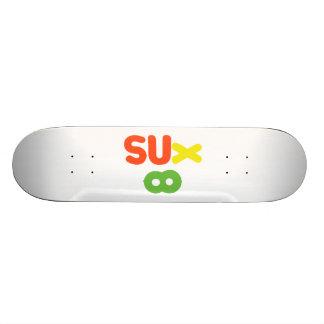 Everything Sucks ~ Sux Infinity Skateboard Deck