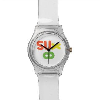 Everything Sucks ~ Sux Infinity Wrist Watch