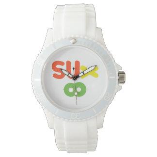 Everything Sucks ~ Sux Infinity Wristwatch