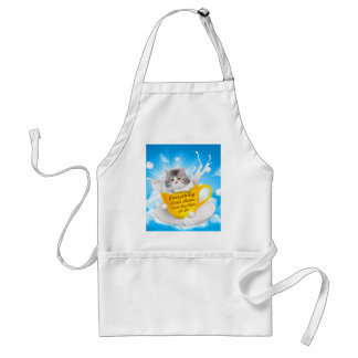 Everything Tastes Better With Cat Hair In It Kitty Adult Apron