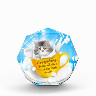 Everything Tastes Better With Cat Hair In It Kitty Award