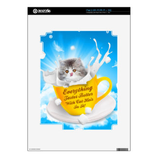Everything Tastes Better With Cat Hair In It Kitty Skins For iPad 2