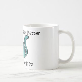 Everything Tastes Better With Cat Hair In It Coffee Mug