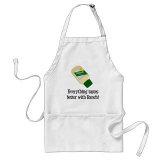 Everything Tastes Better with Ranch Adult Apron