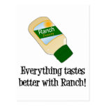 Everything Tastes Better with Ranch Postcard