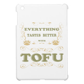 Everything tastes better with tofu case for the iPad mini