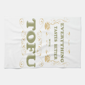 Everything tastes better with tofu hand towels