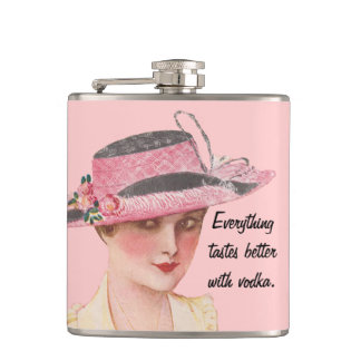 Everything Tastes Better With Vodka Flasks