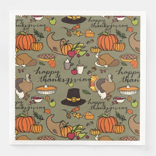 Everything Thanksgiving, Holiday Napkins