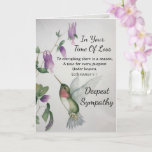 Everything There Is A Season Religious Sympathy Card