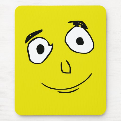 everything went better than expected comic face mousepads