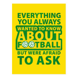 Everything You Always Wanted To Know Postcard