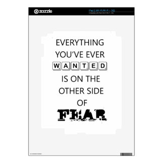 everything you've ever wanted is on the   other si decal for the iPad 2