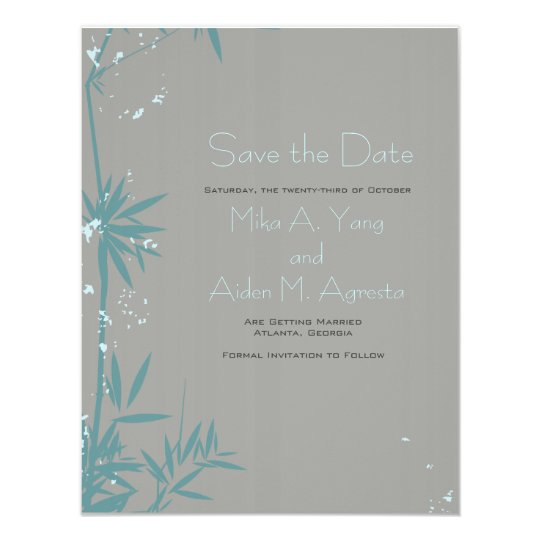 Everything Zen - Save the Date Card