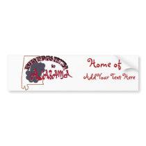 Everything's Better in Alabama Bumper Sticker