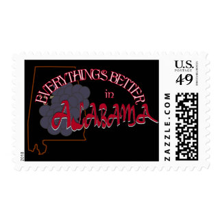 Everything's Better in Alabama Stamp