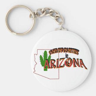 Everything's Better in Arizona Keychain