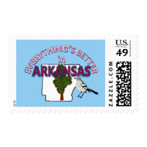 Everything's Better in Arkansas Postage