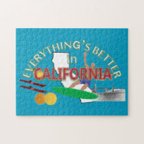 Everything's Better in California Puzzle