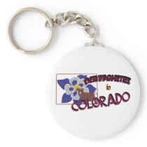 Everything's Better in Colorado Keychain