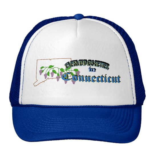 Everything's Better in Connecticut Cap