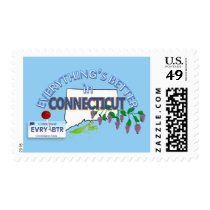 Everything's Better in Connecticut Postage