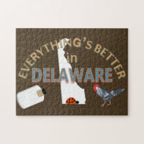 Everything's Better in Delaware Puzzle