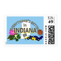 Everything's Better in Indiana Postage