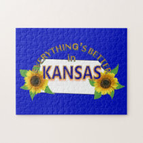 Everything's Better in Kansas Puzzle