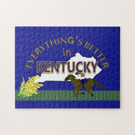 Everything's Better in Kentucky Puzzle