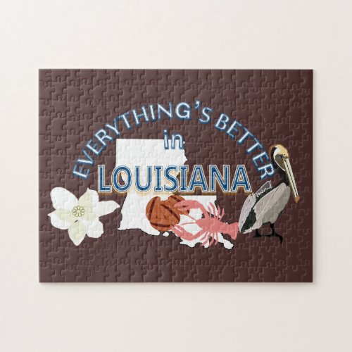 Everything's Better in Louisiana Puzzle