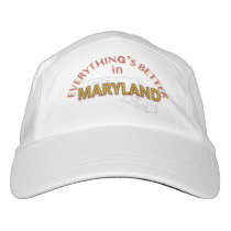 Everything's Better in Maryland Performance Cap
