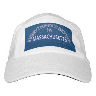 Everything's Better in Massachusetts White Cap Headsweats Hat