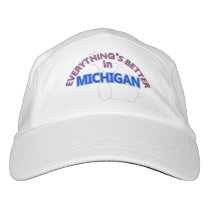 Everything's Better in Michigan Cap