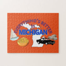 Everything's Better in Michigan Puzzle