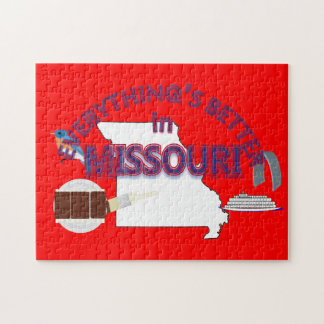 Everything's Better in Missouri Puzzle