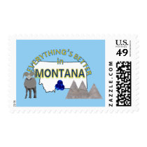 Everything's Better in Montana Postage