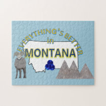 Everything's Better in Montana Puzzle