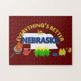 Everything's Better in Nebraska Puzzle